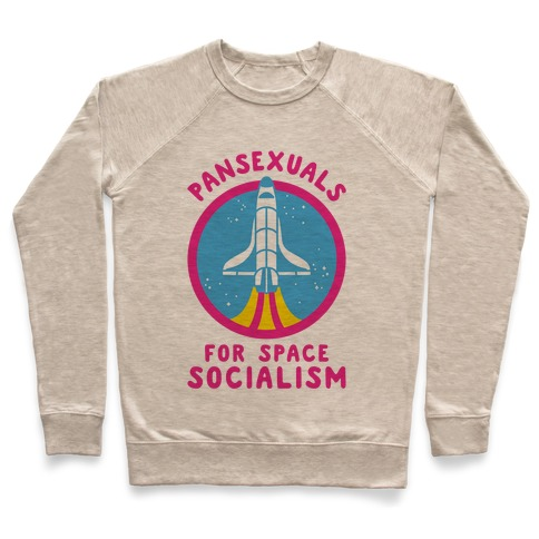 Pansexuals For Space Socialism Pullover
