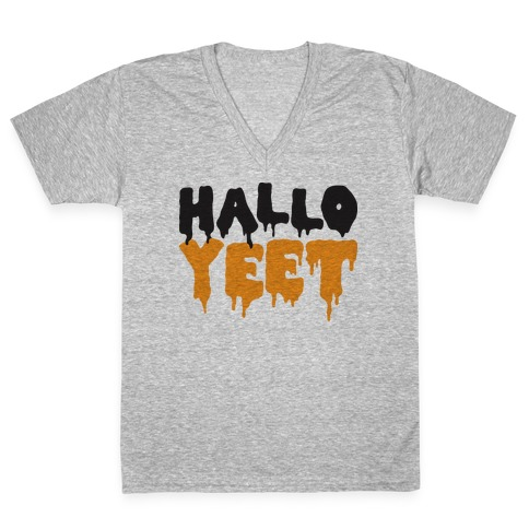 HalloYEET V-Neck Tee Shirt