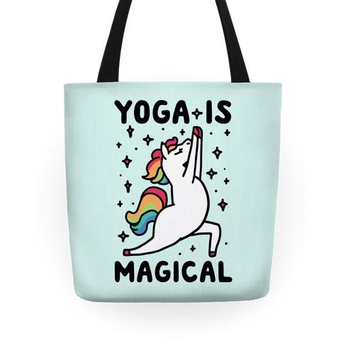 Yoga Is Magical Tote