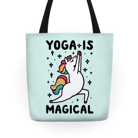 Yoga Is Magical Tote