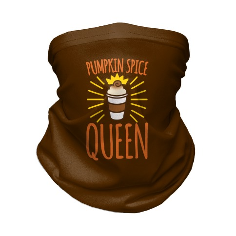Pumpkin Spice Queen Neck Gaiter