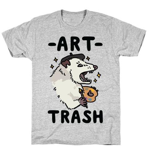 Art Trash Possum T-Shirt