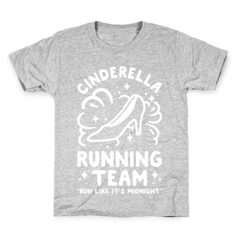 Image of: Doing Cinderella Running Team Kids Tshirt Lookhuman Motivational Quotes Running Tshirts Lookhuman