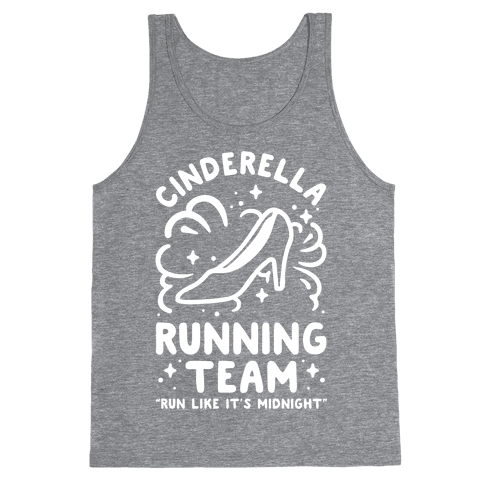 Cinderella Running Team Tank Top