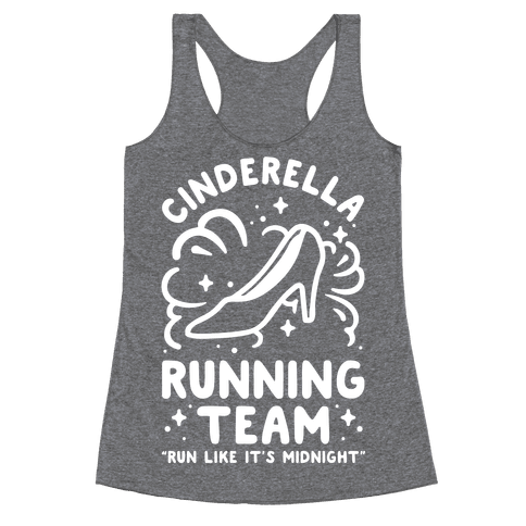 Cinderella Running Team Racerback Tank Top