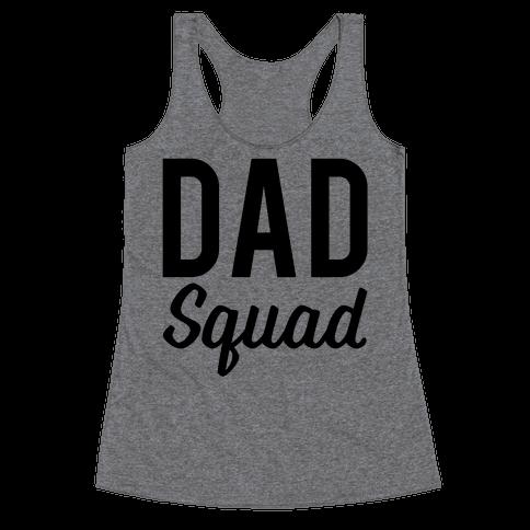 Dad Squad Racerback Tank Top