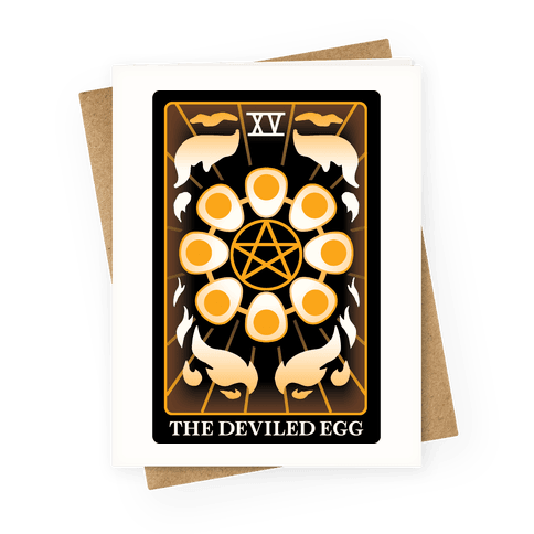 The Deviled Egg Greeting Card