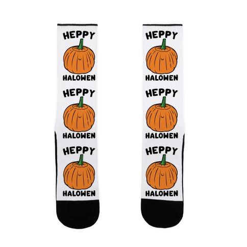 Heppy Halowen Parody Sock
