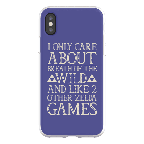 I Only Care About Breath of The Wild Phone Flexi-Case