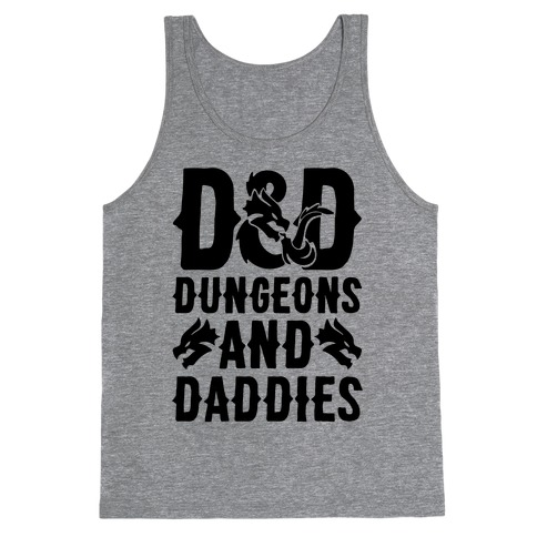 Dungeons and Daddies Parody Tank Top
