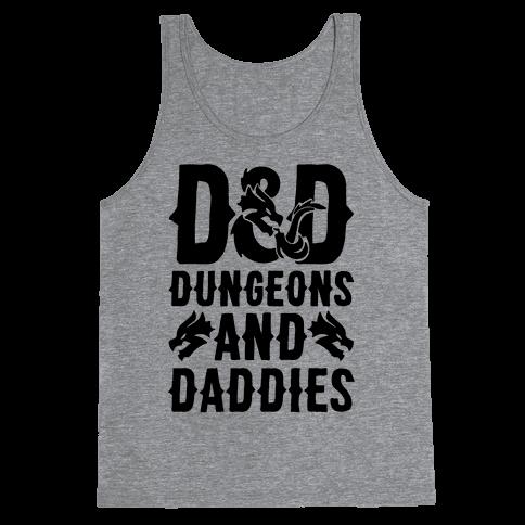 Dungeons and Daddies Parody Tank Top