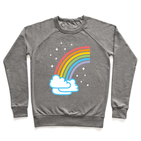 Rainbow Pair 1 (White) Pullover