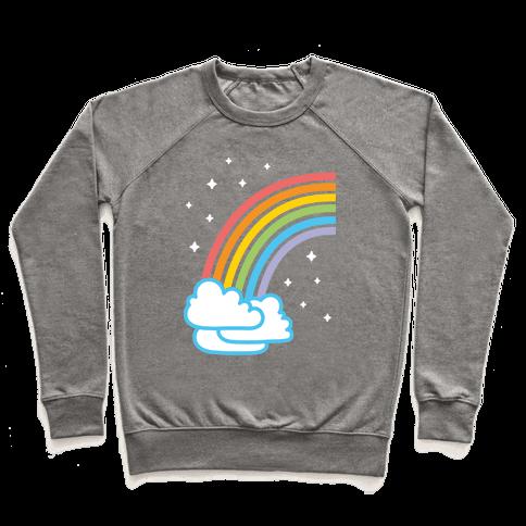 Rainbow Pair 1 (White) Pullover