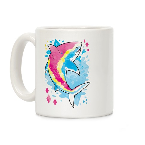 Pride Sharks: Pan Coffee Mug