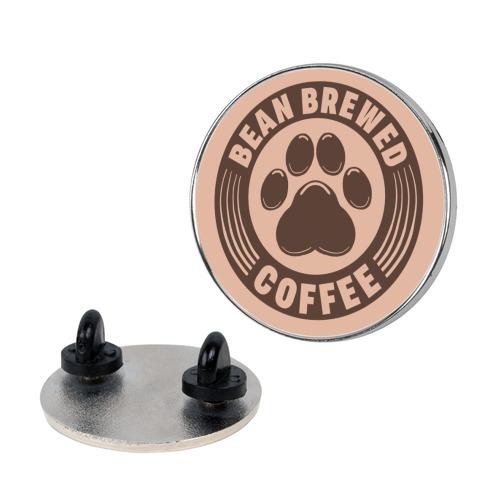Bean Brewed Coffee Pin