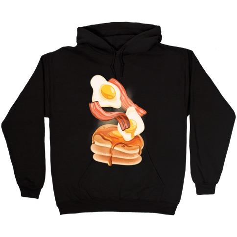 Aesthetic Breakfast Hooded Sweatshirt