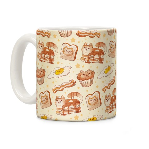 Breakfast Cats Coffee Mug