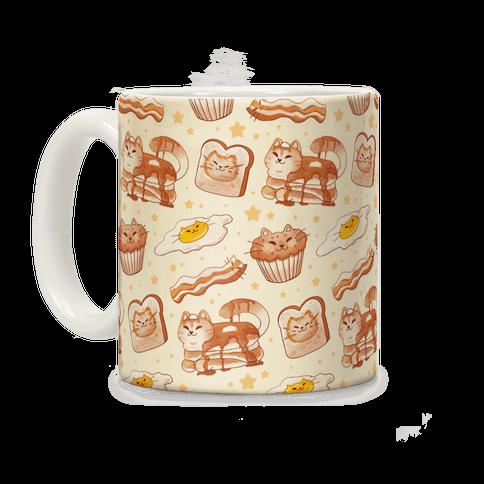 Breakfast Cats Coffee Mug