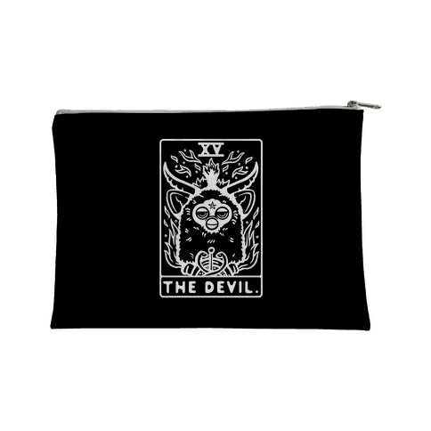The Devil Tarot Card Furby Accessory Bag