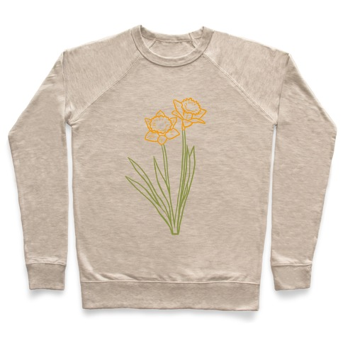 Simple Daffodils Pullover
