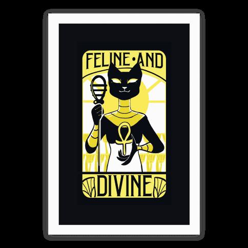 Feline Divine - Bastet Poster
