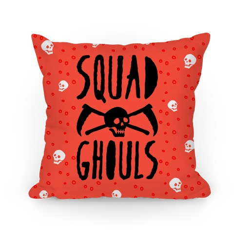 Squad Ghouls Pillow