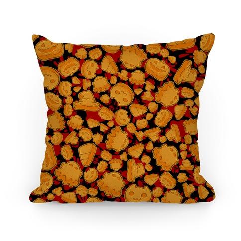 Halloween Nuggies Pattern Pillow