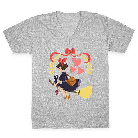 Delivery Witch - Kiki V-Neck Tee Shirt
