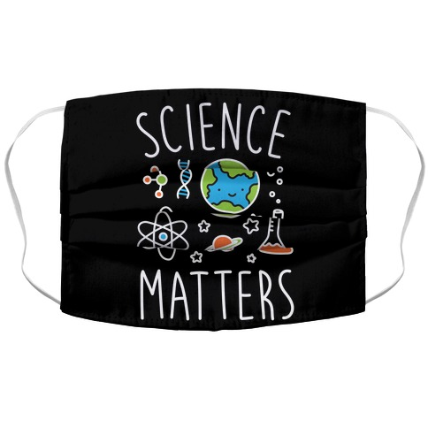 Science Matters Accordion Face Mask