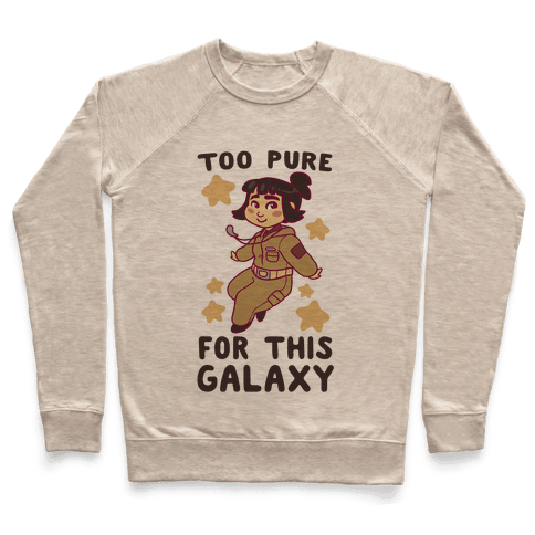 Too Pure For This Galaxy - Rose Tico Pullover