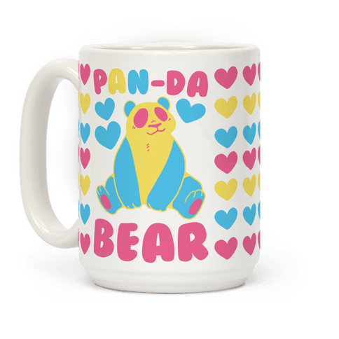 Pan-Da Bear Coffee Mug
