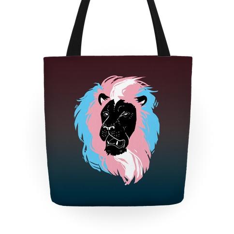 Trans Lion Pride Tote