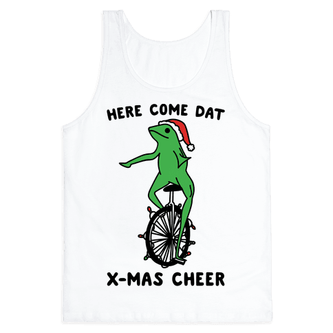 Here Come Dat X-mas Cheer Tank Top