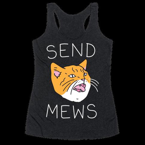 Send Mews Racerback Tank Top