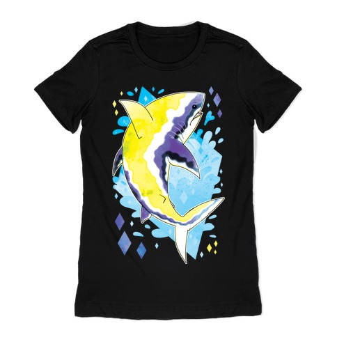 Pride Sharks: Non-binary Womens T-Shirt