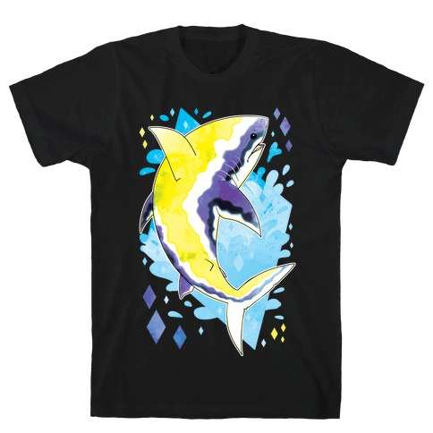 Pride Sharks: Non-binary T-Shirt