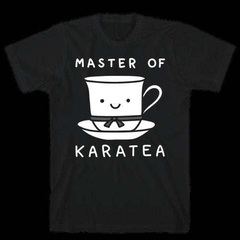 Master Of KaraTEA Mens T-Shirt