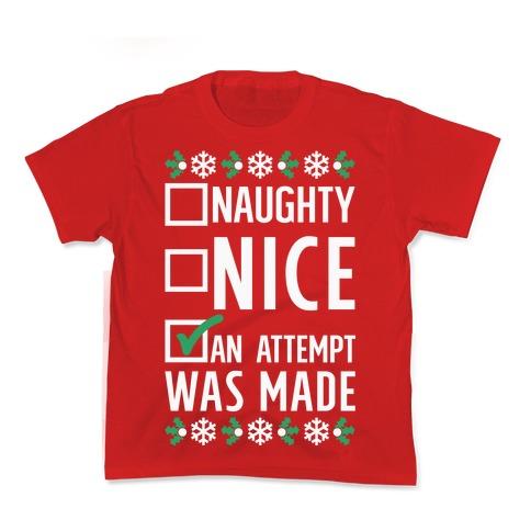 An Attempt was Made Kids T-Shirt