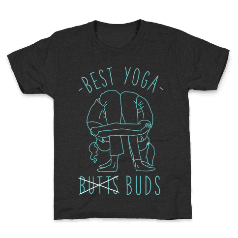 Best Yoga Buds Kids T-Shirt