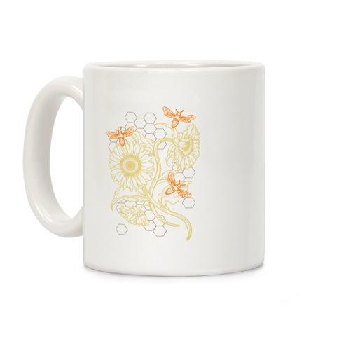 Honeybees & Sunflowers Coffee Mug