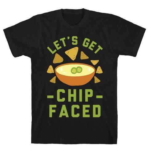 Let's Get Chip Faced Mens T-Shirt