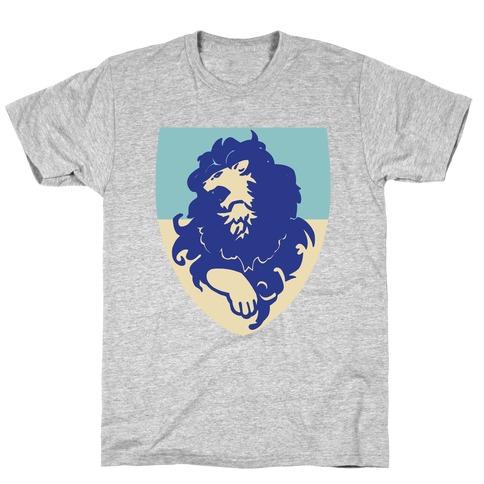 Blue Lion Crest - Fire Emblem T-Shirt