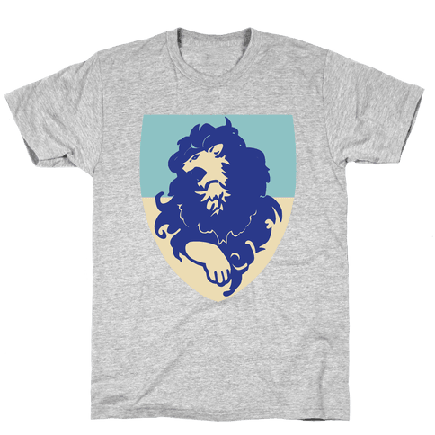 Blue Lion Crest - Fire Emblem Mens/Unisex T-Shirt