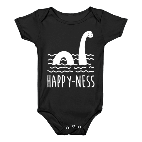 Happy-Ness Loch Ness Monster Baby Onesy
