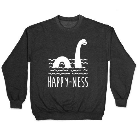 Happy-Ness Loch Ness Monster Pullover