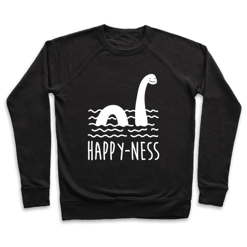 Happy-Ness Loch Ness Monster Pullover