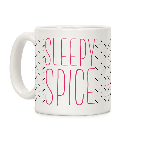 Sleepy Spice Girl Coffee Mug