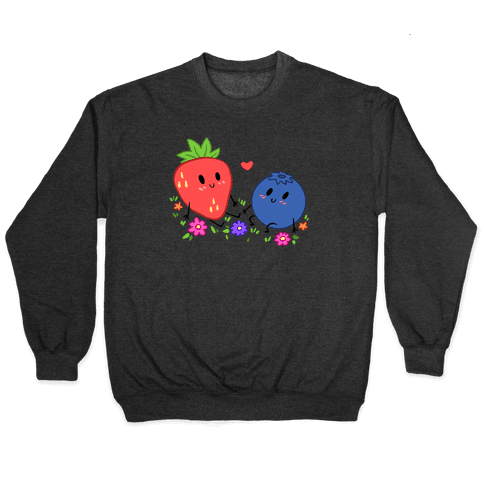 Berry Good Friends Pullover