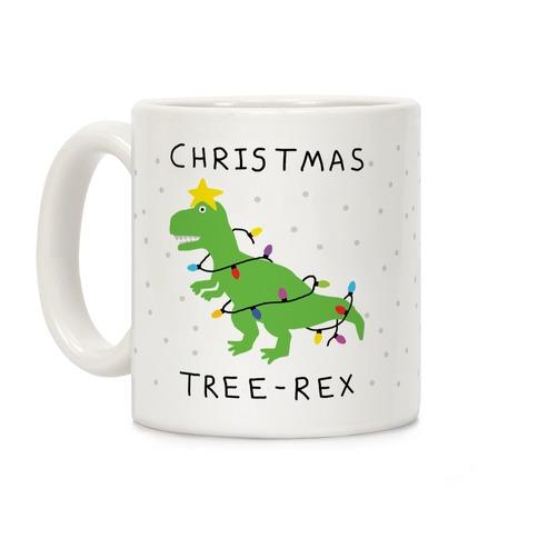 Christmas Tree Rex Coffee Mug