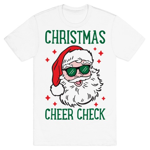 Christmas Cheer Check T-Shirt